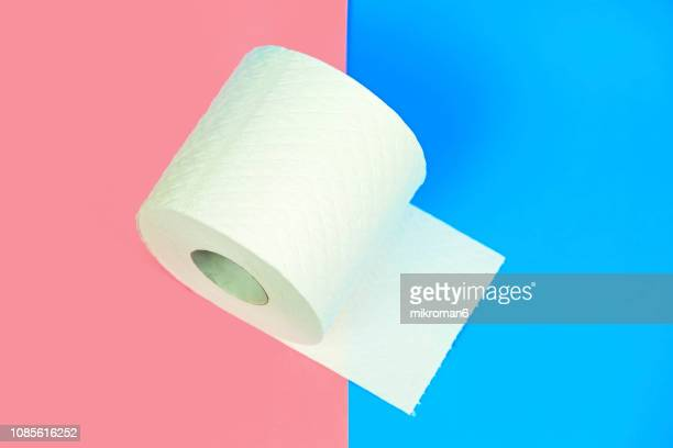 rolls toilet paper. toilet tissue rolls - toilet paper stock pictures, royalty-free photos & images