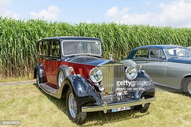 "rolls-royce 20/25 vintage classic car - ""sjoerd van der wal"" stock pictures, royalty-free photos & images"