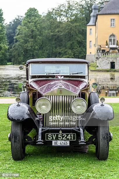 "rolls-royce 40/50hp phantom i regent convertible coupe - ""sjoerd van der wal"" stock pictures, royalty-free photos & images"