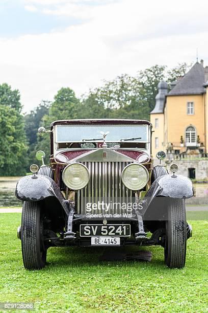 rolls-royce 40/50hp phantom i regent convertible coupe - sjoerd van der wal or sjo stockfoto's en -beelden