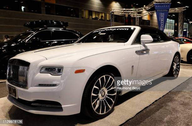 Rolls-Royce Dawn is on display at the 111th Annual Chicago Auto Show at McCormick Place in Chicago, Illinois on February 7, 2019.