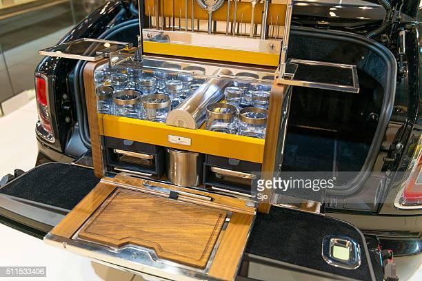 Rolls-Royce Luxus-Picknick in einem Phantom Drophead Coupe