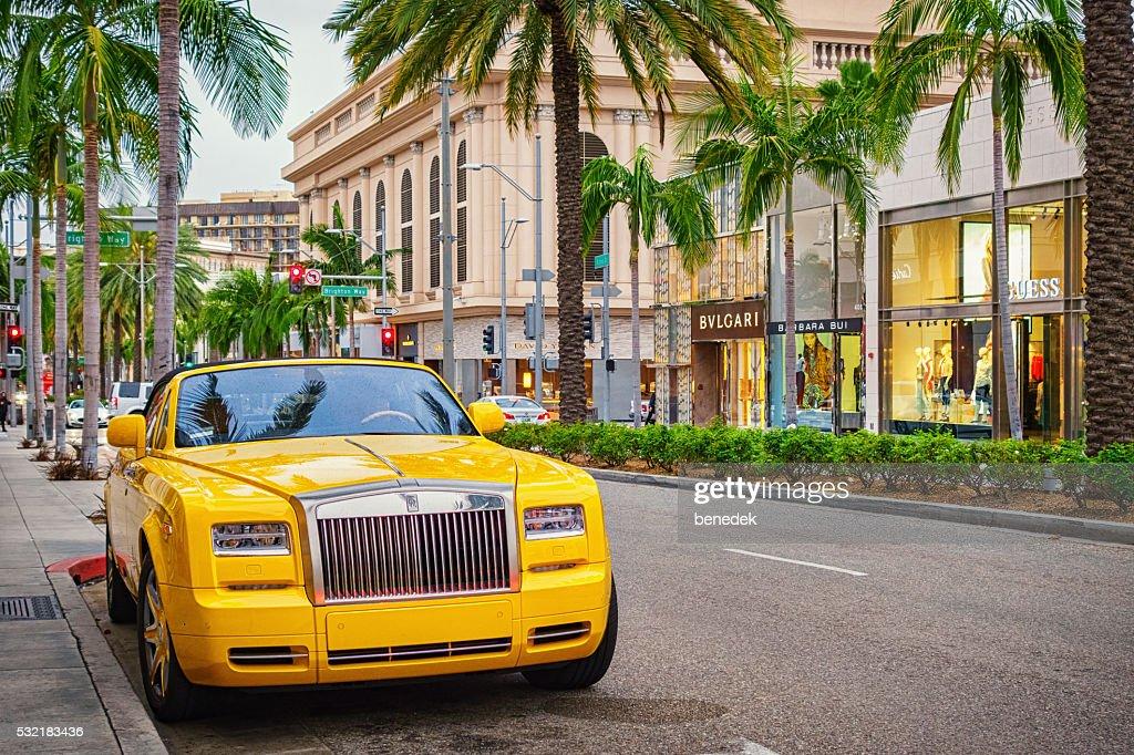Rollsroyce Phantom In Beverly Hills Los Angeles California ...