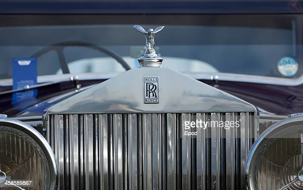 rolls-royce - hood ornament stock pictures, royalty-free photos & images