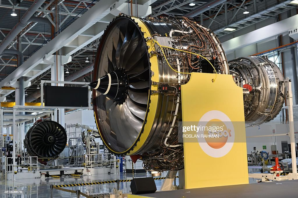 Rolls-Royce Trent 1000 Aero Engine For Singapore's Very