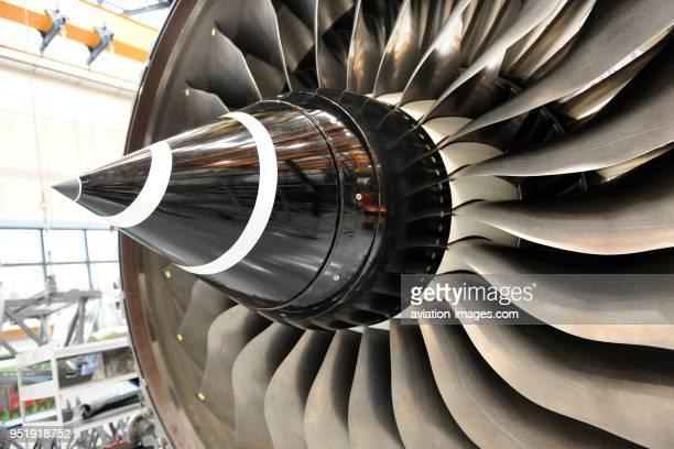 RollsRoyce Trent 900 jet aeroengine maintenance and overhaul at SAESL Singapore Aero Engine Services Pte Ltd