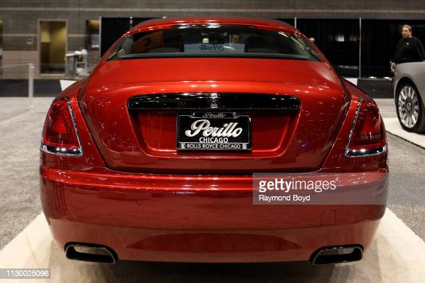 Rolls-Royce Wraith is on display at the 111th Annual Chicago Auto Show at McCormick Place in Chicago, Illinois on February 7, 2019.