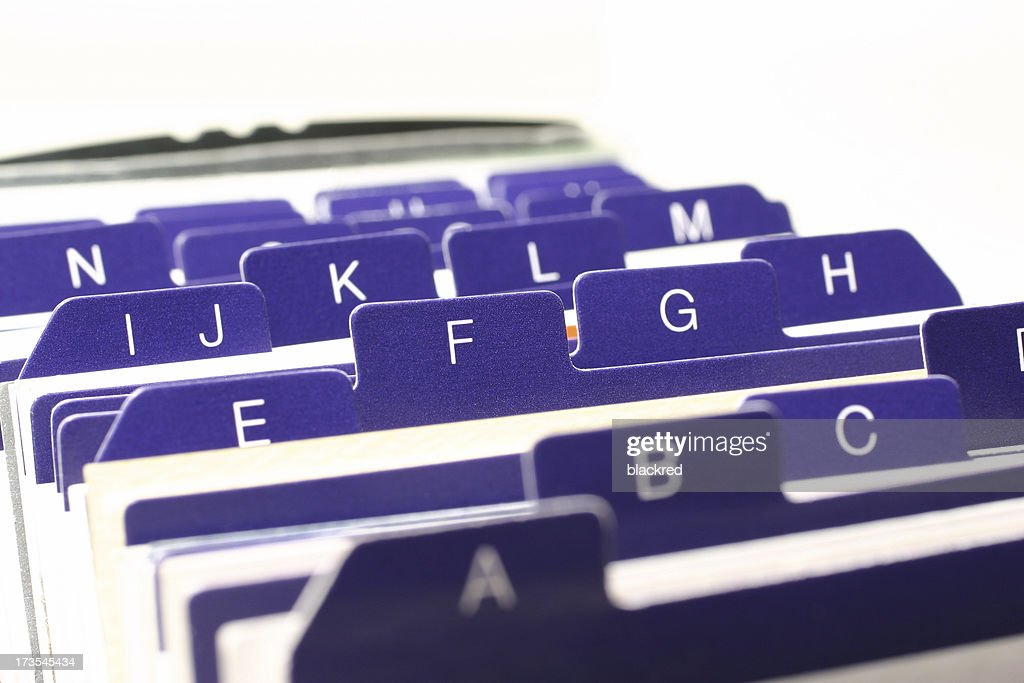 Rolodex : Stock Photo