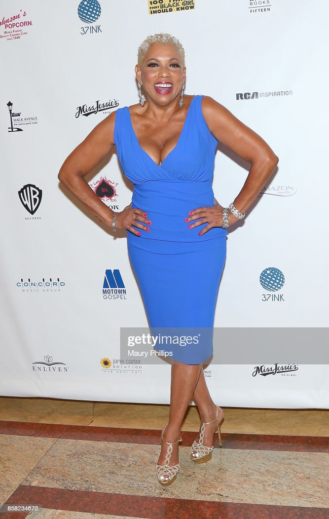 Rolonda Watts arrives at The Living Legends Foundation's 21st annual awards gala - at Taglyan Cultural Complex on October 5, 2017 in Hollywood, California.