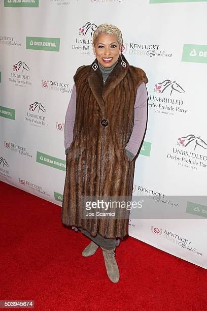 Rolonda Watts attends the 2016 Unbridled Eve Derby Prelude Party at The London Hotel on January 7 2016 in West Hollywood California