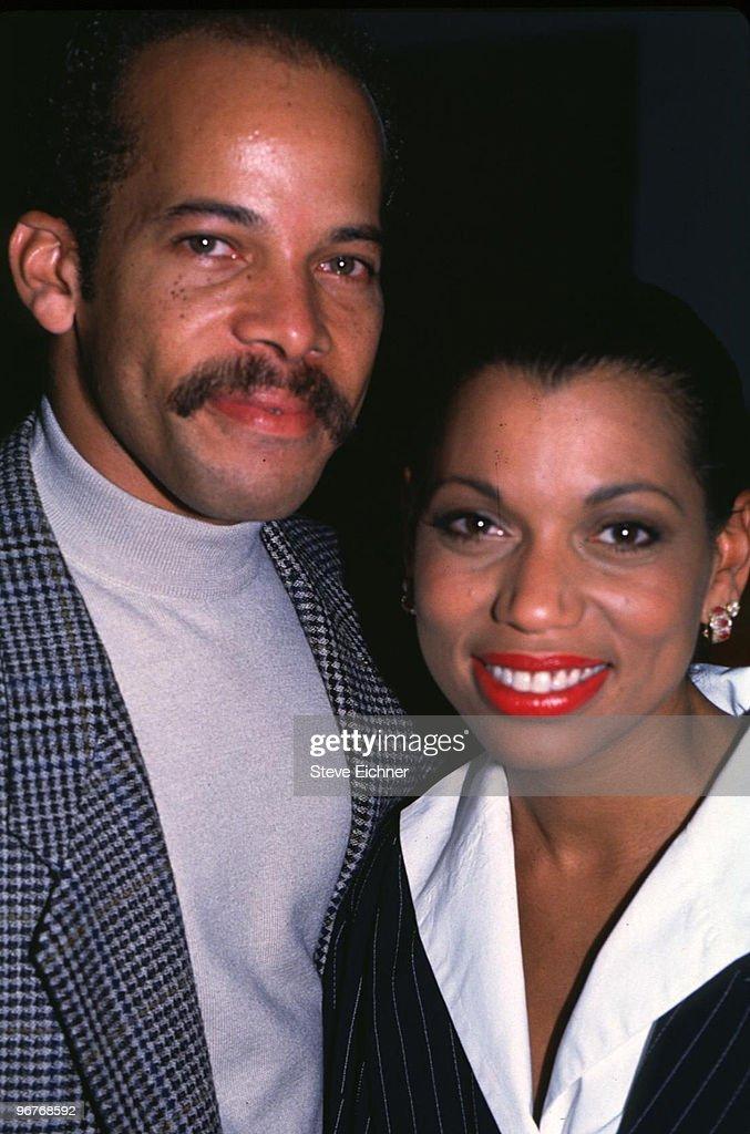 Rolonda Watts (R) with husband