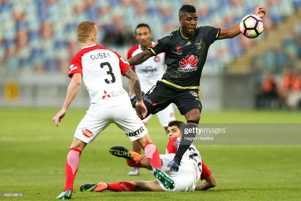 A-League Rd 18 - Wellington v Western Sydney