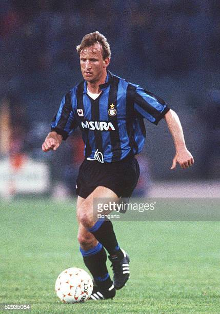 POKAL 90/91 FINALE Rom AS ROM INTER MAILAND 01 Andreas BREHME/INTER MAILAND
