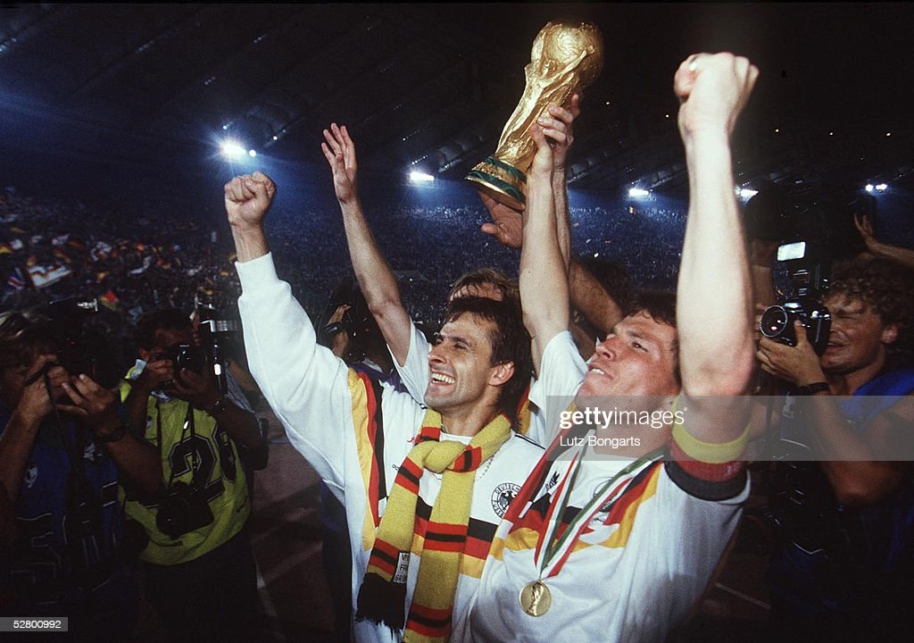 FUSSBALL : WM 1990 , FINALE , ARGENTINIEN - DEUTSCHLAND : News Photo