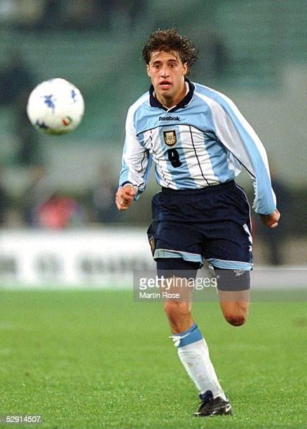 LAENDERSPIEL 2001 Rom ITALIEN ARGENTINIEN 12 Hernan CRESPO/ARGENTINIEN