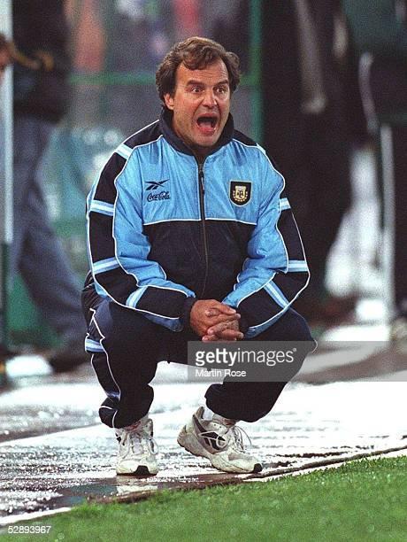 LAENDERSPIEL 2001 Rom ITALIEN ARGENTINIEN 12 Trainer Marcelo BIELSA/ARG
