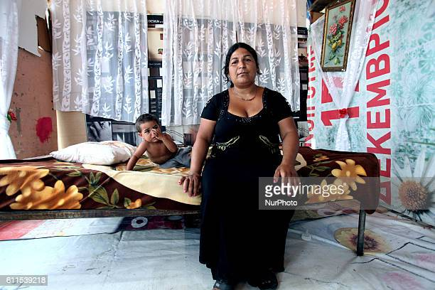 Roma camp in Athens Greece Jun 8 2011 For over five years more than 500 hundred Roma live in the settlement of Votanikos in a central district only a...