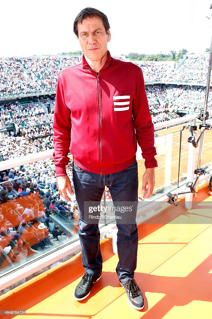 Celebrities At French Open 2014 : Day 7