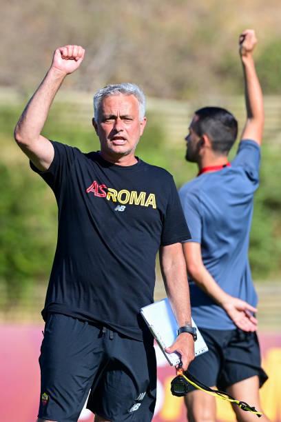 PRT: AS Roma Training Session