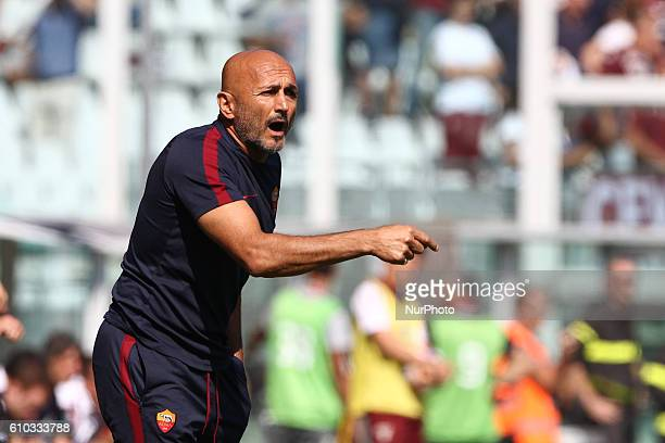 Roma coach Luciano Spalletti during the Serie A football match n6 TORINO ROMA on at the Stadio Olimpico Grande Torino in Turin Italy Copyright 2016...