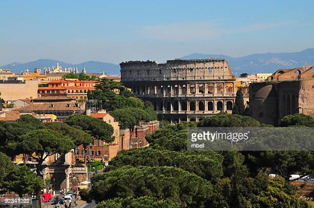 roma colosseo roman colosseum - coliseum rome stock photos and pictures