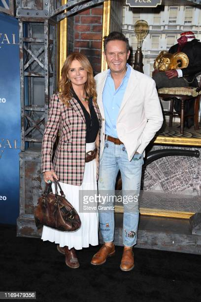 Roma Downey and Mark Burnett attend the LA premiere of Amazon's Carnival Row at TCL Chinese Theatre on August 21 2019 in Hollywood California