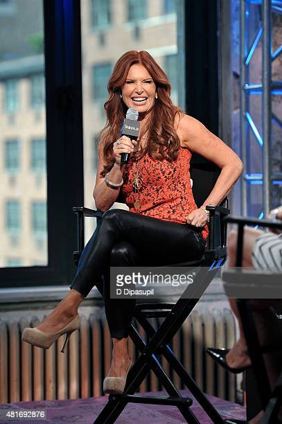 """Roma Downey attends AOL BUILD Speaker Series: """"Answered Prayers"""" at AOL Studios In New York on July 23, 2015 in New York City."""