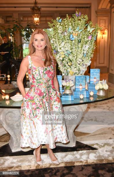 Roma Downey attends Box of Butterflies Book Party on March 20 2018 in Beverly Hills California