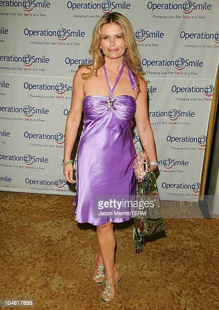 Roma Downey during Operation Smile 4th Annual Los Angeles Gala at Regent Beverly Wilshire Hotel in Los Angeles, California, United States.