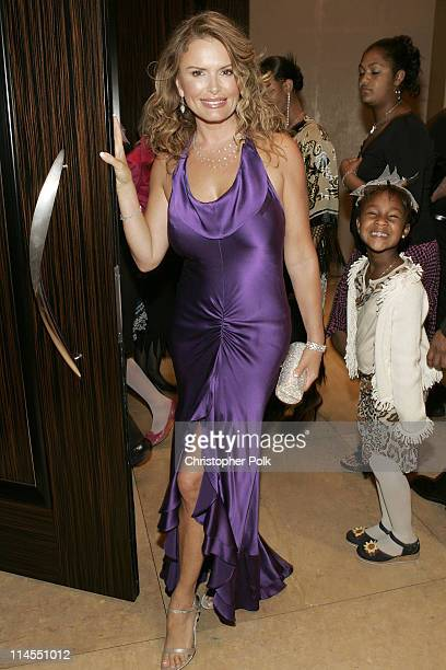 Roma Downey during Operation Smile's 3rd Annual Los Angeles Gala Honoring Nick Lachey, Jessica Simpson, Roma Downey, Dikembe Mutombo and Kaiser...