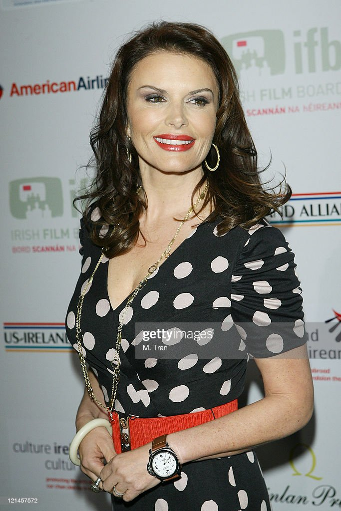 Roma Downey during US-Ireland Alliance Honor Van Morrison at 2007 Pre-Oscar Gala at The Ebell Club of Los Angeles in Los Angeles, California, United States.