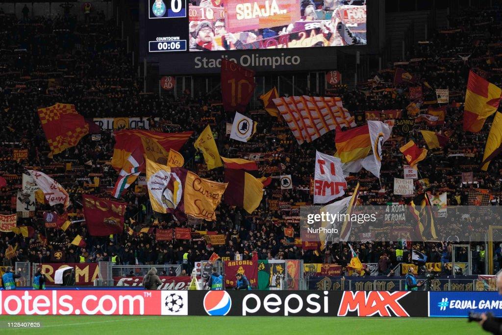 AS Roma v FC Porto - UEFA Champions League Round of 16: First Leg : ニュース写真