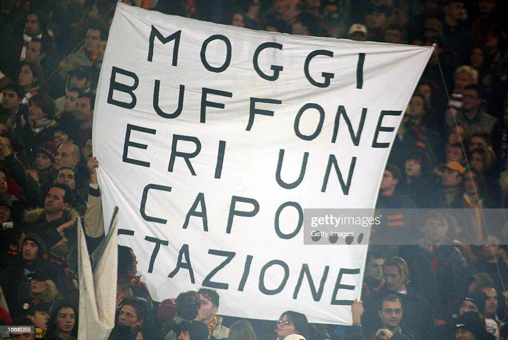 Roma fan : News Photo