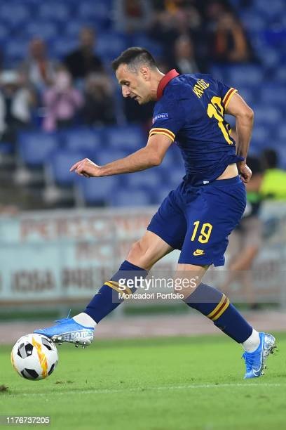 Roma football player Nikola Kalinic during the match Roma-Istanbul Basaksehir at the Olimpic stadium Rome , September 20th, 2019