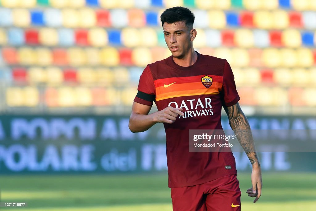 Roma football player Roger Ibanez during match Frosinone-Roma in the...  News Photo - Getty Images