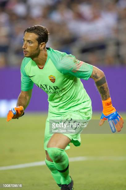 Roma goalkeeper Antonio Mirante during the International Champions Cup match between AS Roma and Tottenham Hotspur FC on July 22 2018 at SDCCU...