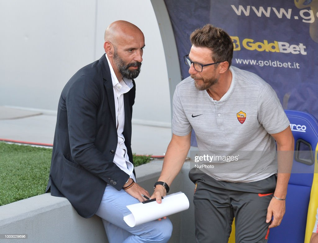 AS Roma v Avellino - Pre-Season Friendly : News Photo