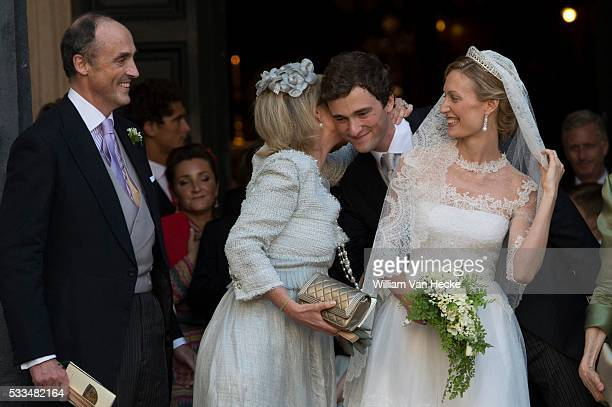 Roma July 5 2014 Wedding of Prince Amedeo of Belgium and Mlle Elisabetta Maria Rosboch von Wolkenstein