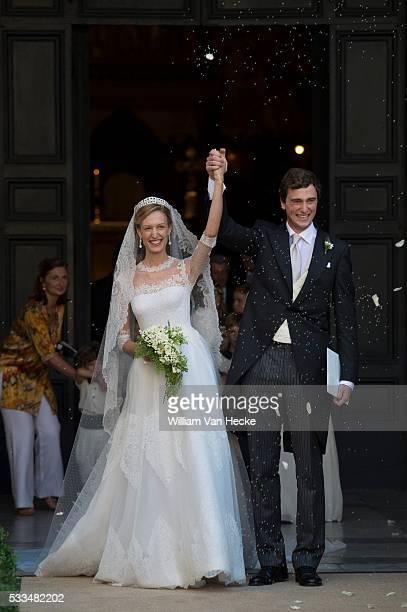 Roma - July 5, 2014 Wedding of Prince Amedeo of Belgium and Mlle. Elisabetta Maria Rosboch von Wolkenstein