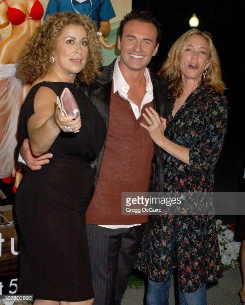 Roma Maffia Julian McMahon and Ally Walker during Season Four Premiere Screening Of 'Nip/Tuck' Arrivals at Paramount Studios in Hollywood California...