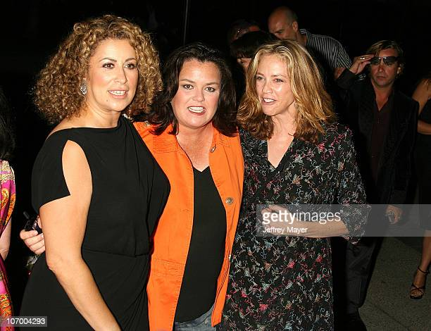 Roma Maffia Rosie O'Donnell and Ally Walker during Season Four Premiere Screening Of 'Nip/Tuck' Arrivals at Paramount Studios in Hollywood California...