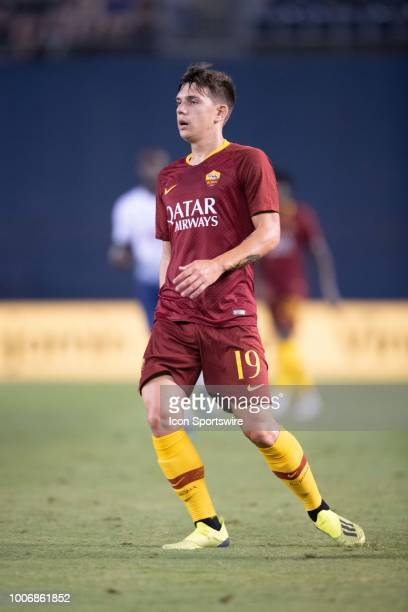 Roma midfielder Ante Coric during an International Champions Cup match between AS Roma and Tottenham Hotspur FC on July 25 2018 at SDCCU Stadium in...