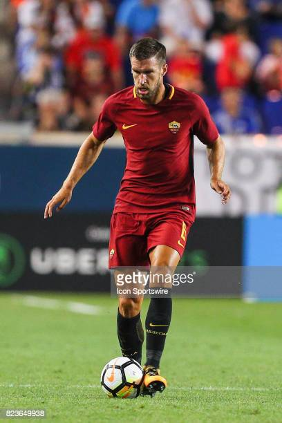 Roma midfielder Kevin Strootman during the second half of the International Champions Cup soccer game between Tottenham Hotspur and Roma on July 25...