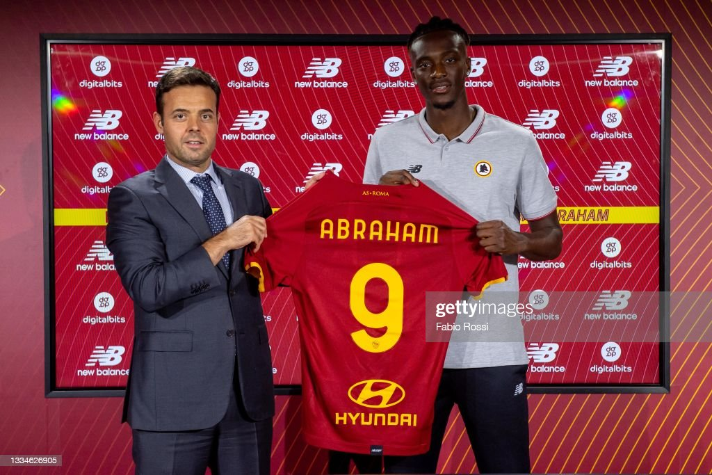 AS Roma Unveil New Signing Tammy Abraham : News Photo