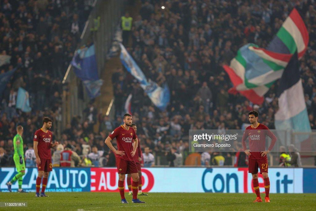 SS Lazio v AS Roma - Serie A : News Photo