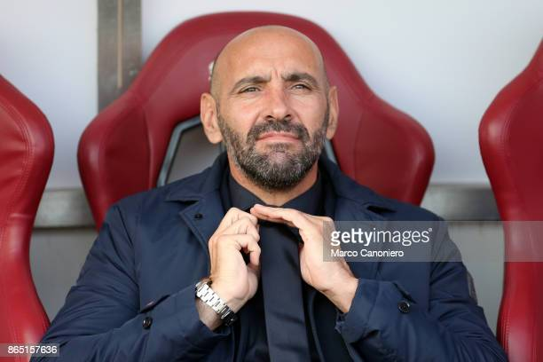 Roma Sport Director Ramon Rodriguez Verdejo commonly known as Monchi looks on before the Serie A football match between Torino Fc and As Roma As Roma...