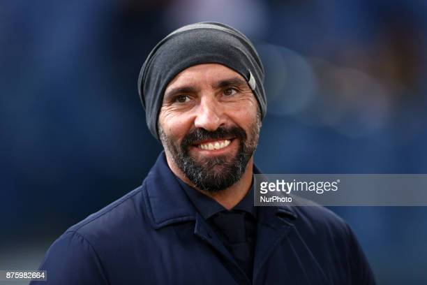 AS Roma Sport Director Ramon Rodriguez Verdejo commonly known as Monchi during the Italian Serie A football match AS Roma vs Lazio on November 18...