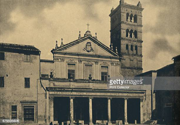 Roma St Caecilia's Church' 1910 Santa Cecilia in Trastevere is a 5thcentury church in Rome Italy in the Trastevere rione devoted to the Roman martyr...