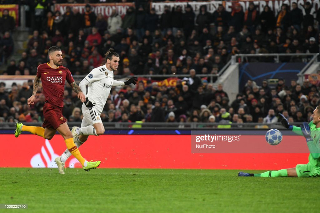 AS Roma v Real Madrid - UEFA Champions League Group G : ニュース写真