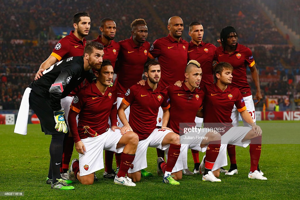 AS Roma v Manchester City FC - UEFA Champions League : News Photo
